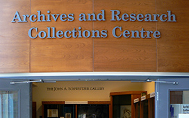 Archives Entrance