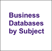 Databases by Subject