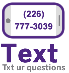 Text your questions