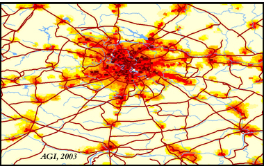 Population Density - Moscow