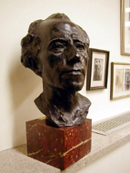 Bust of Mahler by Auguste Rodin