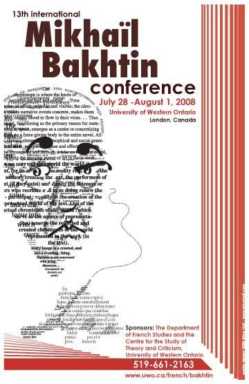 Bakhtin Conference Poster
