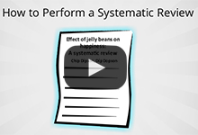 How to perform a systematic review