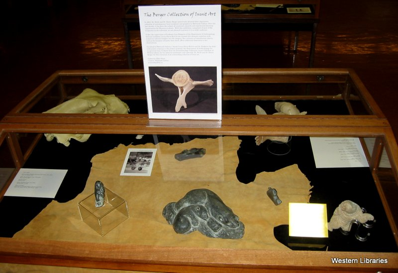 The Berger Collection of Inuit Art Exhibit