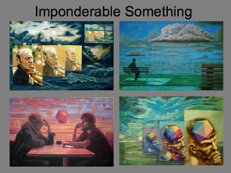 Imponderable Something art collage